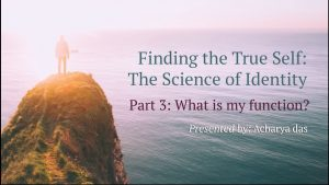 Part 3 – Finding The True Self: Function