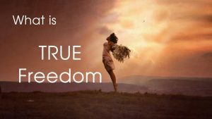 What Is True Freedom?
