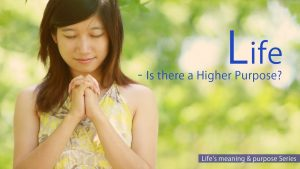 Life – Is There A Higher Purpose?