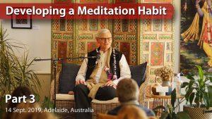 Developing A Meditation Habit – Part 3