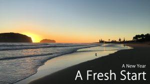 A New Year – A Fresh Start