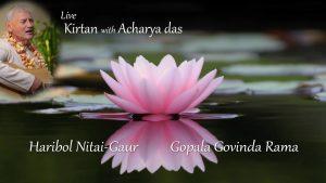 Live Kirtan Haribol Nitai Gaur And Gopala Govinda Rama